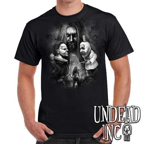 Rob Zombie - Mens T Shirt BLACK GREY