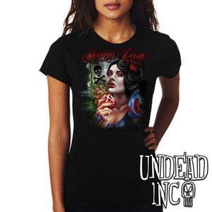 "Snow White Poison Apple ""Sleeping Death"" - Ladies T Shirt"
