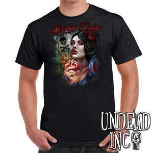 "Snow White Poison Apple ""Sleeping Death"" - Mens T Shirt"