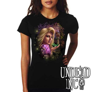 Tangled - Ladies T Shirt