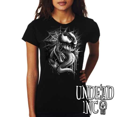 Venom - Ladies T Shirt Black Grey