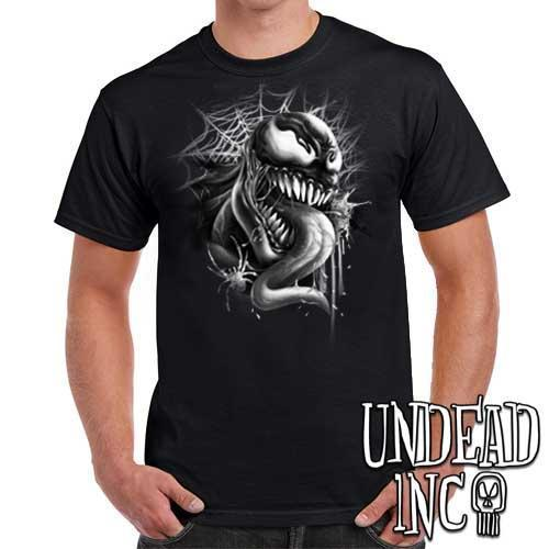 Venom - Mens T Shirt Black Grey
