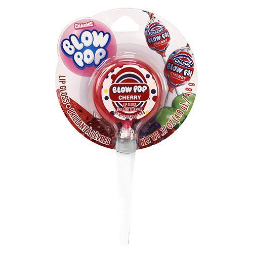 Blow Pop Cherry Lollipop Lip Gloss