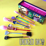 Undead Inc Collection Avengers End Game - Metal Makeup Brush & Holder Set