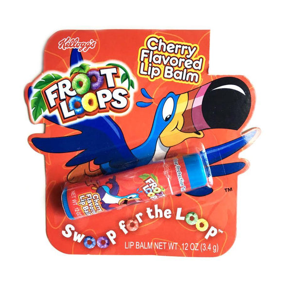 Kellogg's Fruit Loops Flavoured Lip Balm