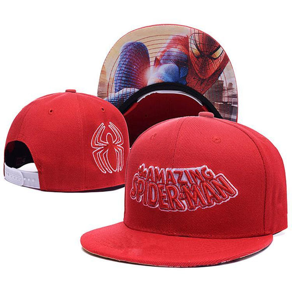 Spider-Man With Inner Brim Print Cap Hat