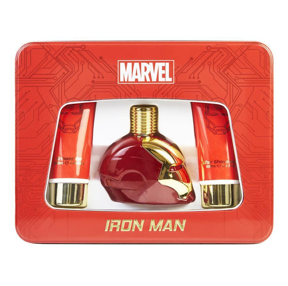 Iron Man Cologne Gift Tin Set by Marvel Fragrance - Undead Inc Fragrance,