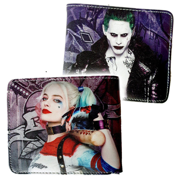 Suicide Squad Harley Quinn & The Joker Bifold Wallet