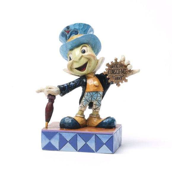 Official Conscience - Jiminy Cricket Statue