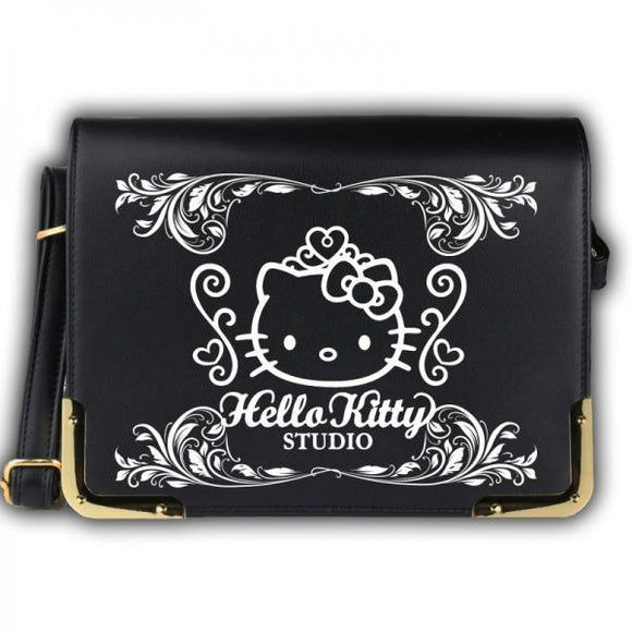 Hello Kitty Studio PU Leather Book Messenger Bag