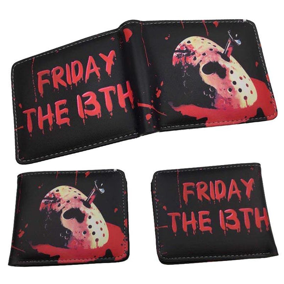 Jason Voorhees Mask Friday 13th Wallet