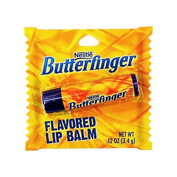 Butterfinger Candy Flavoured Lip Balm - Undead Inc Lip Balm,