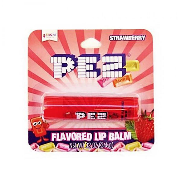 PEZ Strawberry Candy Flavoured Lip Balm