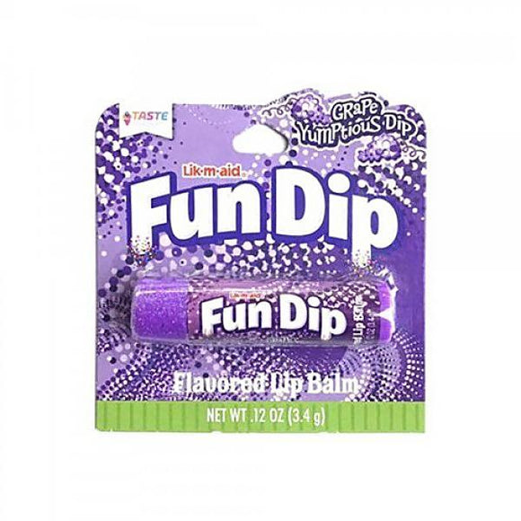 Wonka Grape Fun Dip Candy Flavoured Lip Balm