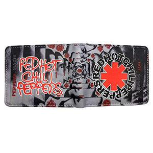 Red Hot Chili Peppers PU Leather Bifold Wallet