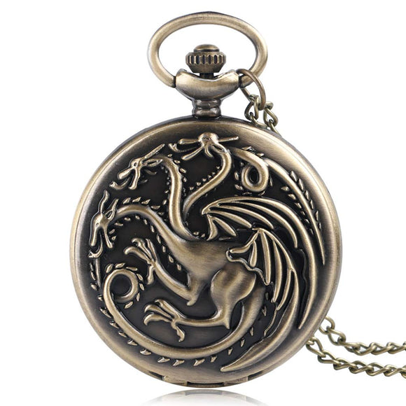 Game Of Thrones Daenerys Targaryen Pocket Watch