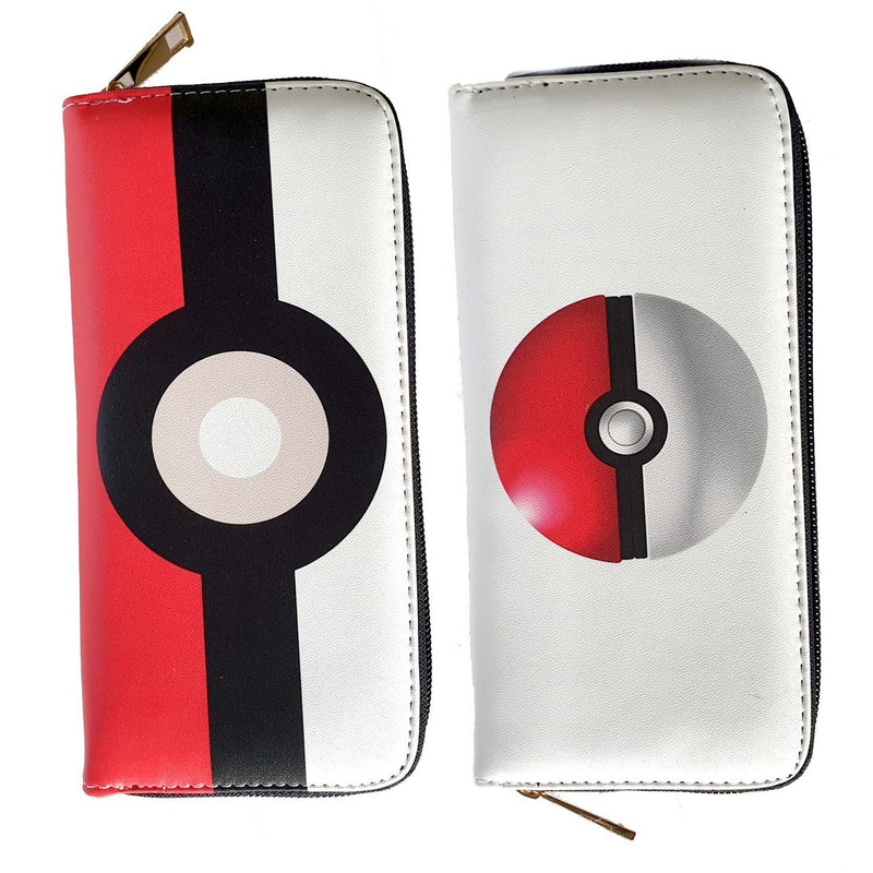 Pokemon Pokeball Long Line Wallet Purse