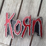 Korn Heavy Metal Belt Buckle