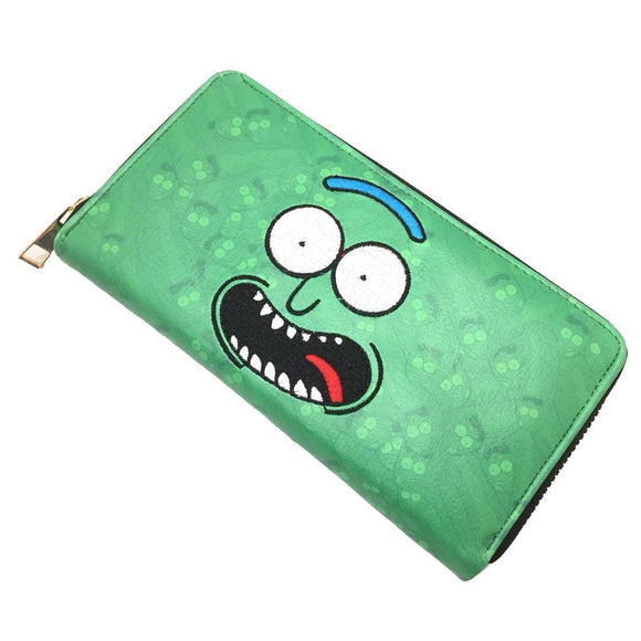 Rick And Morty Pickle Rick Long Line Wallet Purse