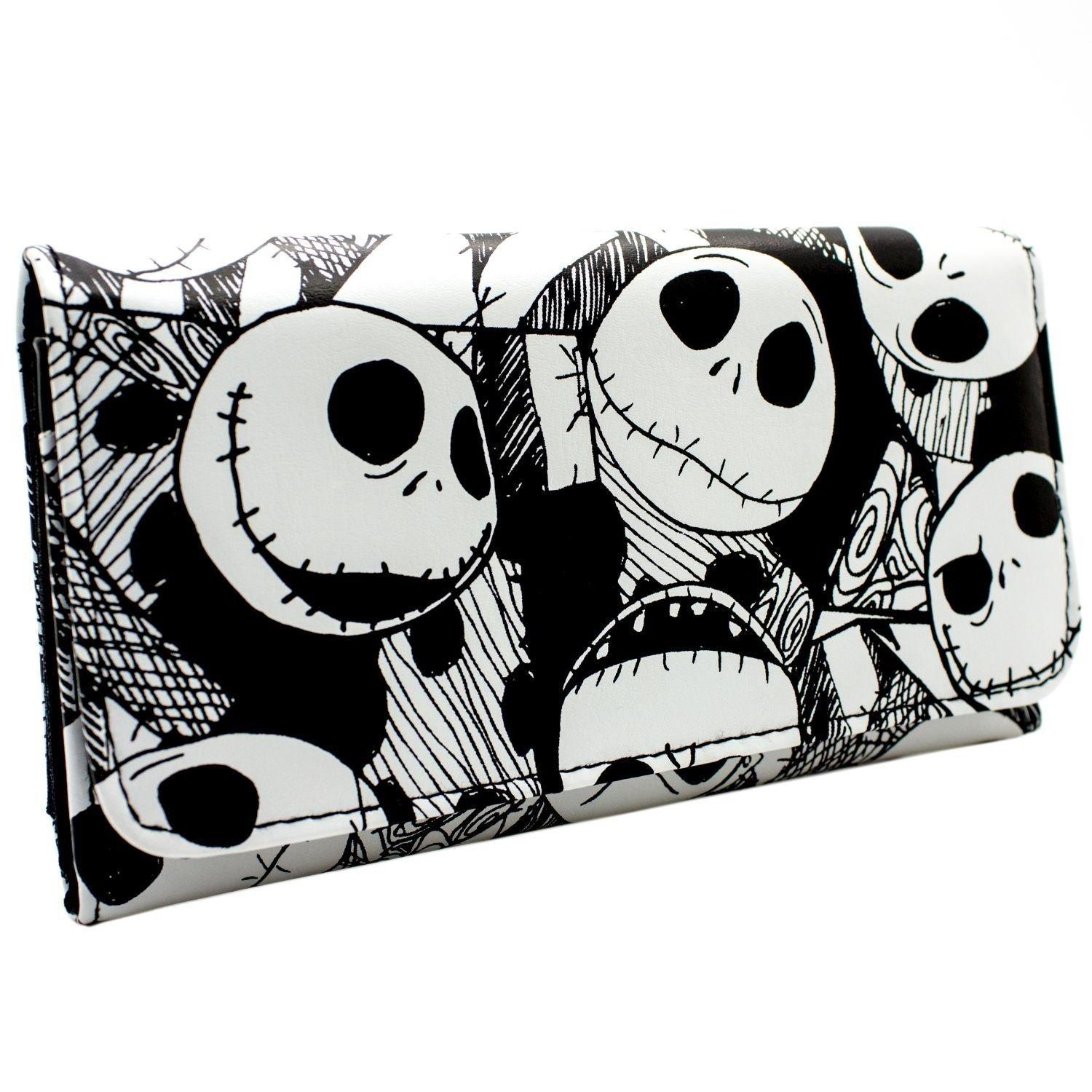Nightmare before Christmas Jack Skellington Long Line Wallet Purse ...