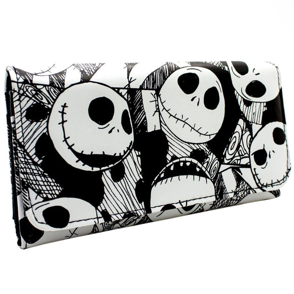 Nightmare before Christmas Jack Skellington Long Line Wallet Purse