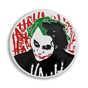 Dark Knight Joker Belt Buckle - Undead Inc Belt Buckle,
