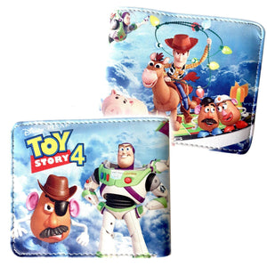 Toy Story Roundup Pu Leather Bifold Wallet