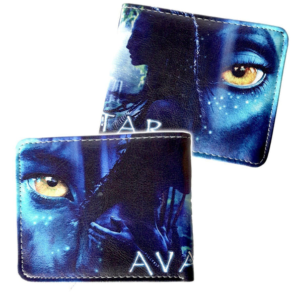 Avatar Pu Leather Bifold Wallet