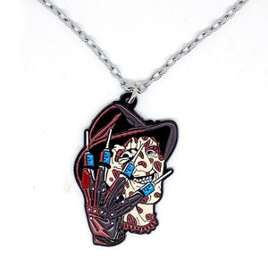 Freddy Krueger Nightmare On Elm St Necklace