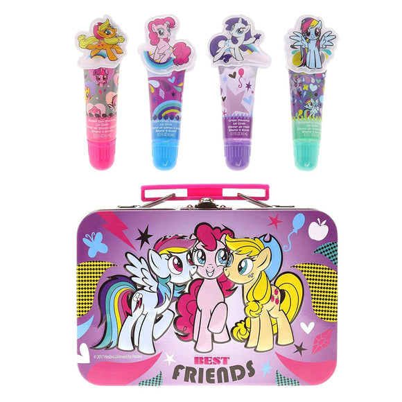 My Little Pony Lip Gloss Tin Cosmetic Set