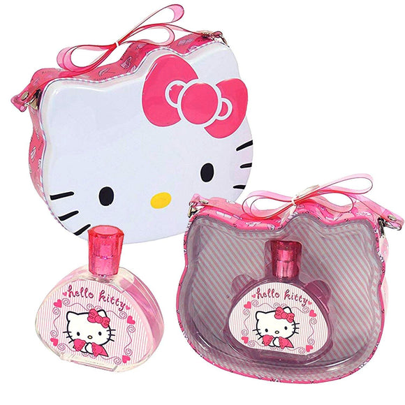 Hello Kitty Metal Case Perfume Set