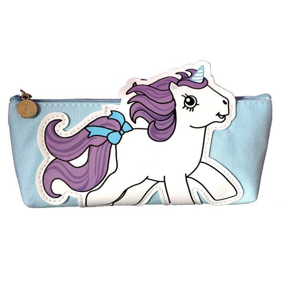 Retro My Little Pony Purple Makeup Cosmetics Bag