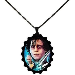 Edward Scissorhands - Vincent Price STAINLESS STEEL Necklace - Undead Inc ,