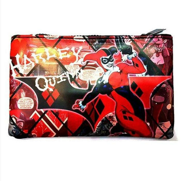Harley Quinn Cosmetics Bag - Undead Inc Cosmetics Bag,