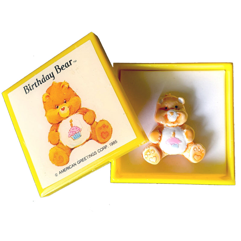 Care Bears 1985 - Birthday Bear PIN Brooch Pin Care bears