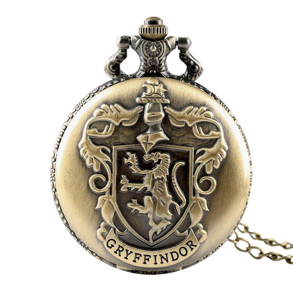 Harry Potter Gryffindor Pocket Watch