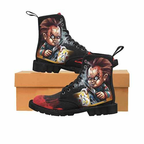 Chucky LADIES Martin Boots - Undead Inc Womens Boots,