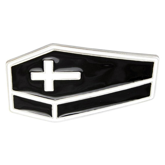 Coffin Gothic Belt Buckle