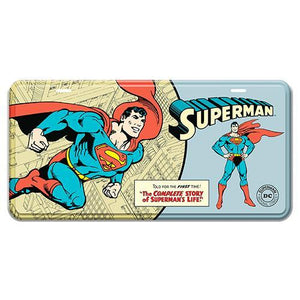 Superman License Plate Tin Sign