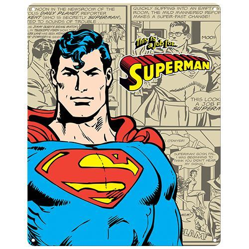 Superman Tin Sign