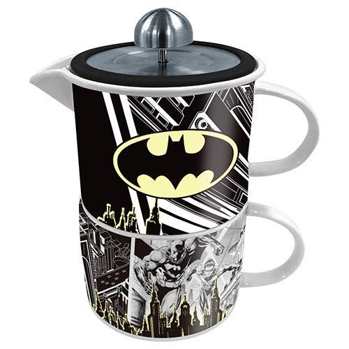 Batman Coffee For One Mug & Teapot Set