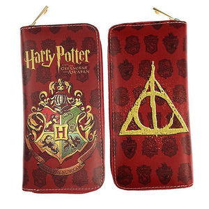 Harry Potter Hogwarts Deathly Hallows Long Line Wallet
