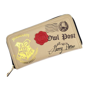 Harry Potter Owl Post With Realistic Wax Seal Premium Long Line Wallet