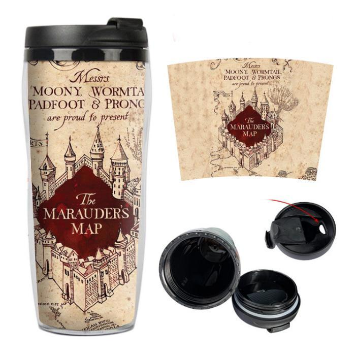 Harry Potter Marauders Map Travel Coffee Mug