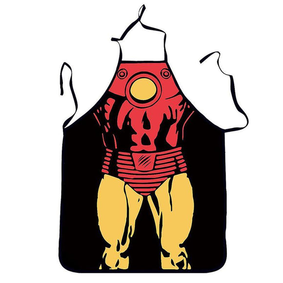 Iron Man Comic Book Apron