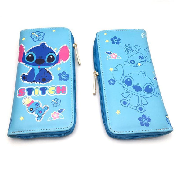 Disney Lilo & Stitch Long Line PU Leather Wallet - Undead Inc Wallet,