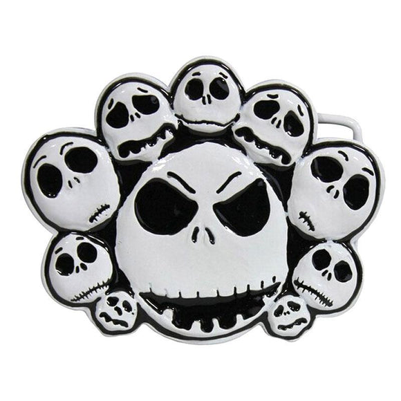 Nightmare before Christmas Jack Skellington Expressions Belt Buckle