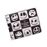 Nightmare Before Christmas Jack Skellington Expressions PU Leather Bifold Wallet
