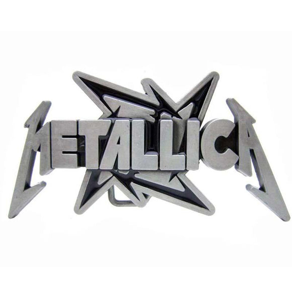 Metallica Logo Belt Buckle