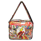 The Flash Comic Book Style Pu Leather Messenger Bag